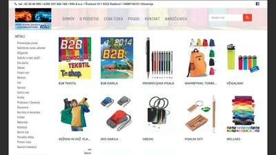 Riki.si Promotional Textiles